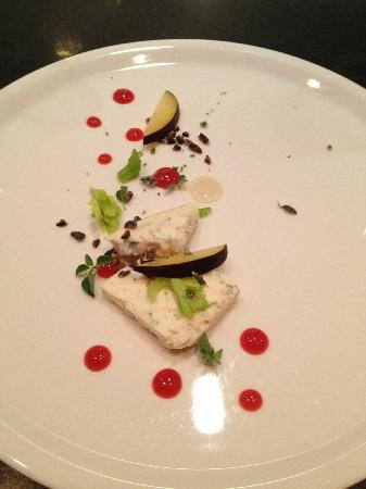 Salt of the Earth: cheese: blue cheese, plum, honey, cocoa, celery