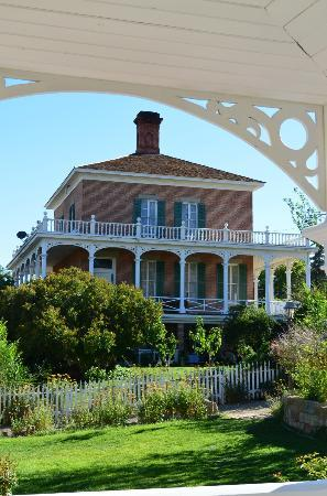 Mackay Mansion: View From the Garden Gazebo