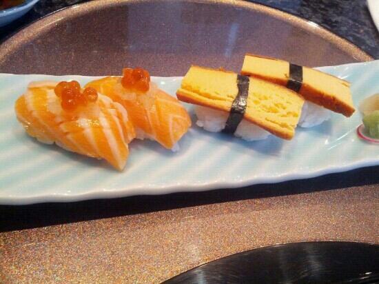 The Shiori: salmon toro and tamago