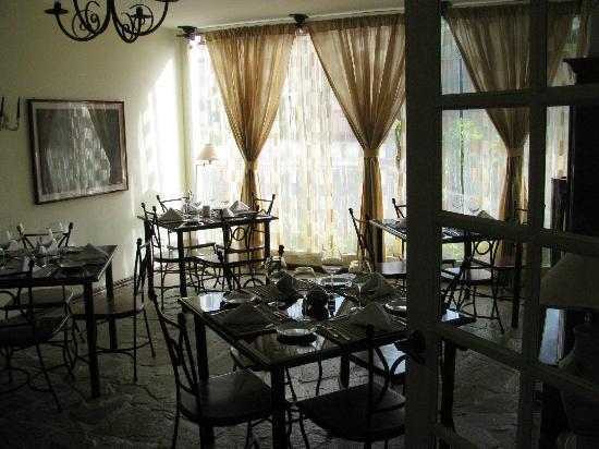 Hotel Luisiana: Dining area