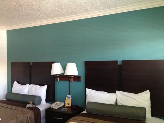 Saharan Motor Hotel: une chambre
