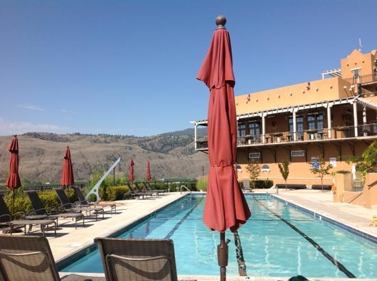 Burrowing Owl Estate Winery Guest House: pool view