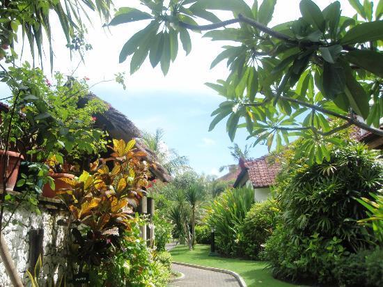 Grand Istana Rama Hotel Bali: 中庭