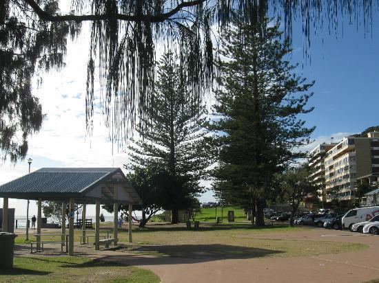 Burleigh Heads Beach: Good facilities