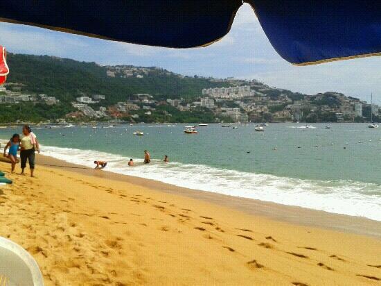 Playa Icacos: playa icaco