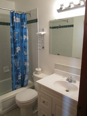 Cedar Motel: Very clean bathroom