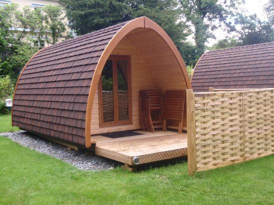 Tavistock, UK: Camping Pod (or 'Glamping' as it's known!)