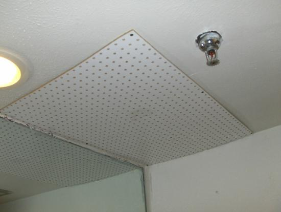 Days Inn Missoula University: Pegboard Air Vent