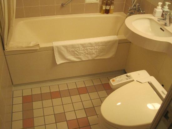 Tokyo Daiichi Hotel Nishiki : バスルーム