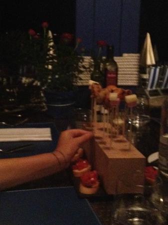 Baglioni Resort Alleluja: Stuzzichini per Apericena