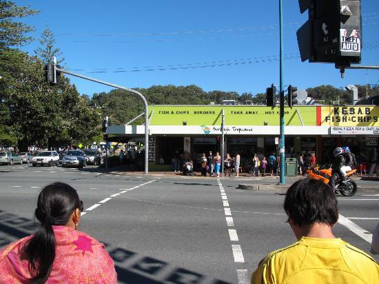 Pacific Carvery: From road view