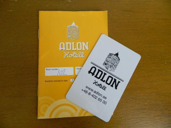 Elite Hotel Adlon: check in all'arrivo