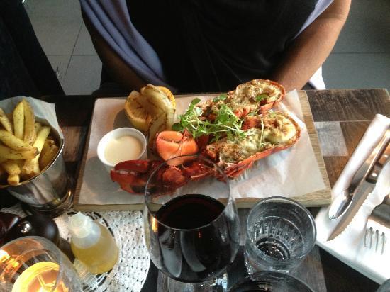 Griffins Steakhouse: Lobster Extraordinaire