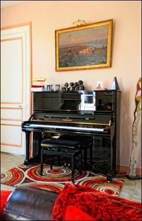 Le Chateau des Lumieres de la Baie de Somme: le salon