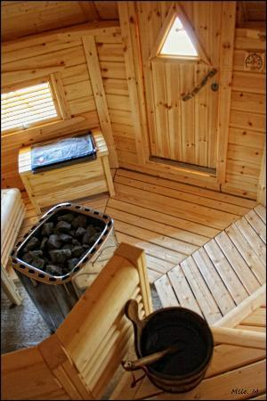 Le Chateau des Lumieres de la Baie de Somme: sauna