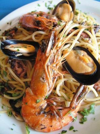 Portopalo Restaurant : Spaghetti Gamberi e' Cozze