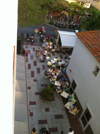 Hotel Bulevard : vue de notre balcon