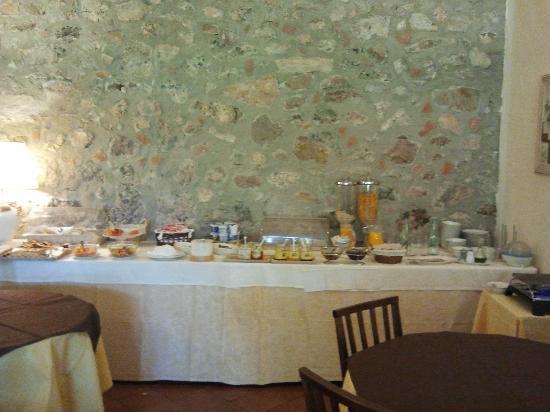 Ghiaccio Bosco: colazione