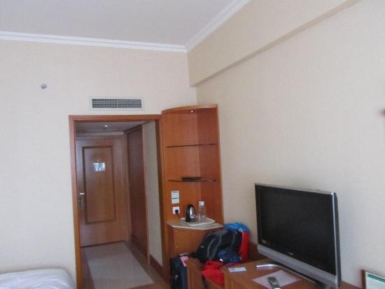Dalian Aerbin Jinshan Hotel Water Park: tv