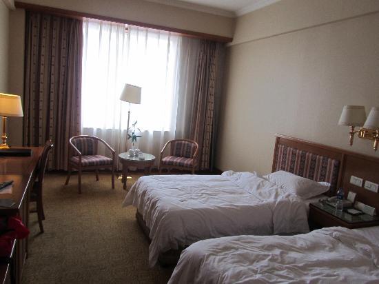 Dalian Aerbin Jinshan Hotel Water Park: room