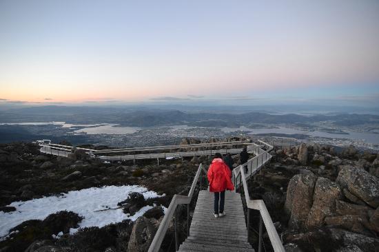 Tasmania I Drive: Mt. Wellington Pinnacle