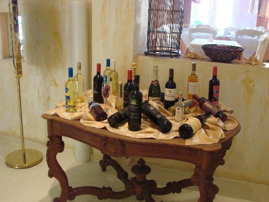 أوربياس ريزورت: Choix des vins 