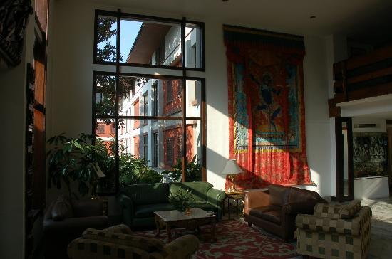 Hotel Annapurna: LOUNGE