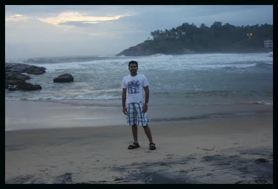 Lighthouse Beach: Me..relaxing..