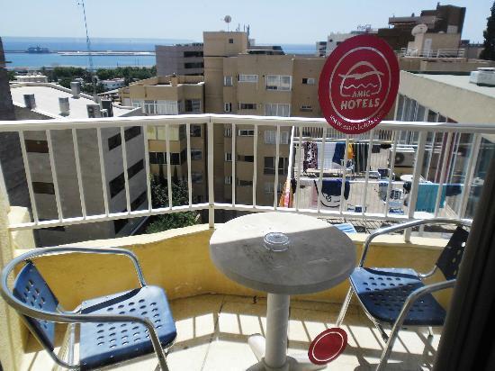 Hotel Amic Horizonte : il nostro balconcino