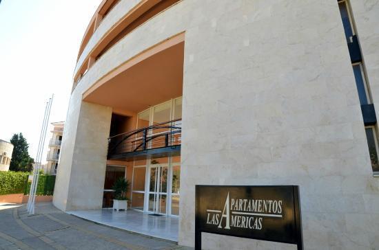 Apartamentos Leo Las Americas : Entrada