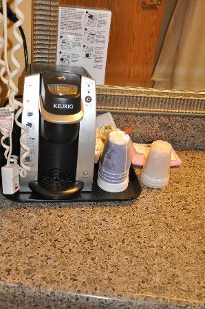 Holiday Inn Express Dryden: coffee maker