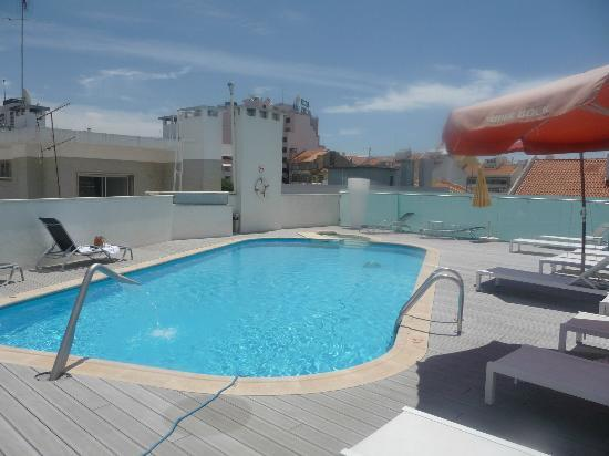 Sana Reno Hotel Swimming Pool On The Roof Of