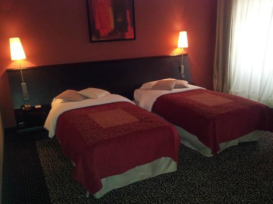 Hotel La Citadelle Metz - MGallery By Sofitel : vu de la chambre
