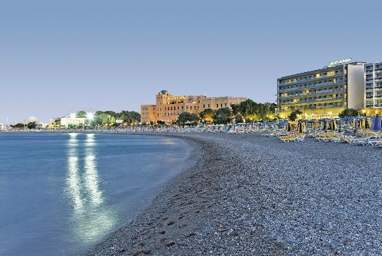 Hotel Mediterranean : Magnificent location of the Mediterranean Hotel