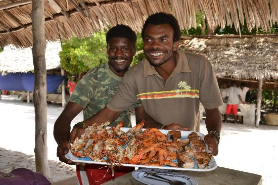 Crystal Bay Resort: Piatti di pesce