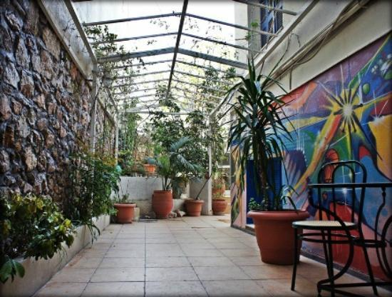 Hotel Dioskouros: Our Garden