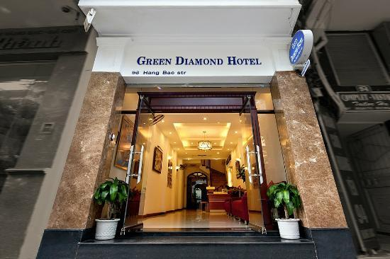 Green Diamond Hotel: Hotel exterior