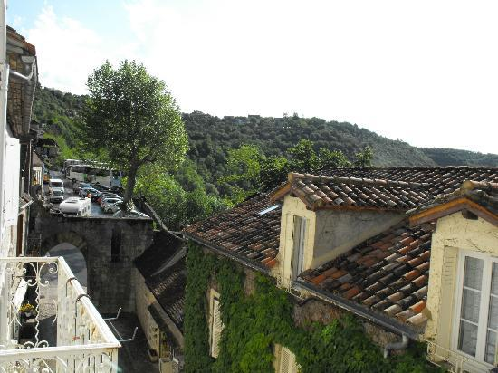 Hotel du Lion d'Or: View from hotel balcony on second floor