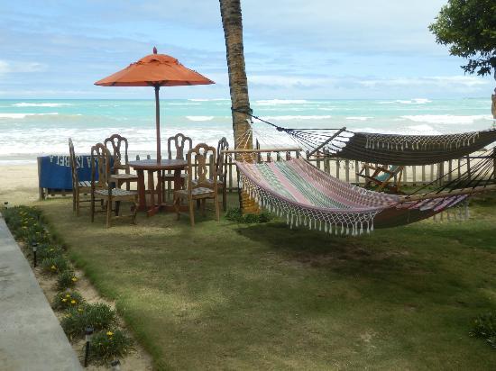 La Casita de la Playa: der kleine Vorgarten