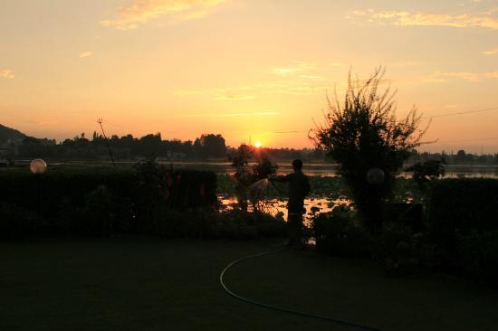 Hotel Dar-Es-Salam: sunset