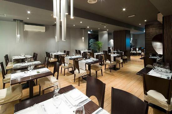Restaurante Asiatico Ninsei: Zona de las mesas