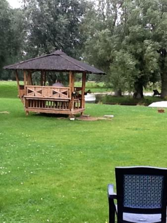 Hotel les Saules: Jardin