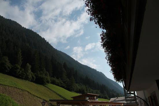 Hotel Bergblick: Vista balcone nord