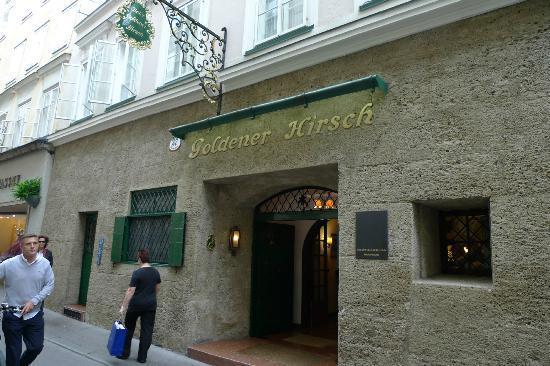 Hotel Goldener Hirsch, a Luxury Collection Hotel, Salzburg : ホテル外観