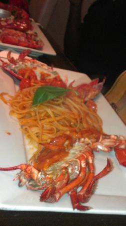 Thalassa Seafood Restaurant: Lobster Linguine Pasta