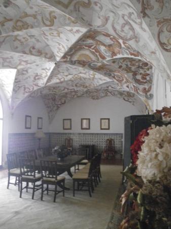 Pousada Convento de Vila Viçosa: ceiling painting