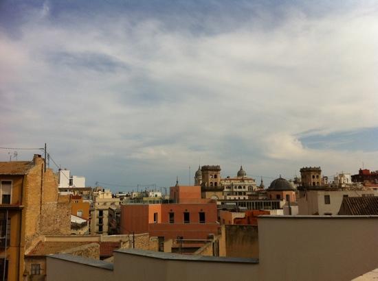 La Milagrosa Bed & Breakfast: vista dall'attico dell'appartamento