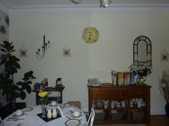 Becket Guest House: Frühstücksraum