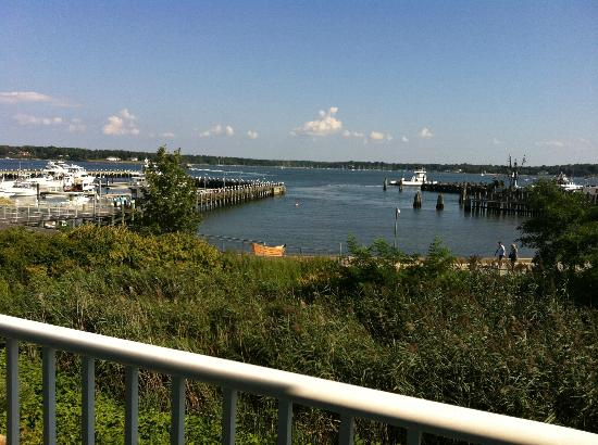 Harborfront Inn at Greenport: View from room 202.