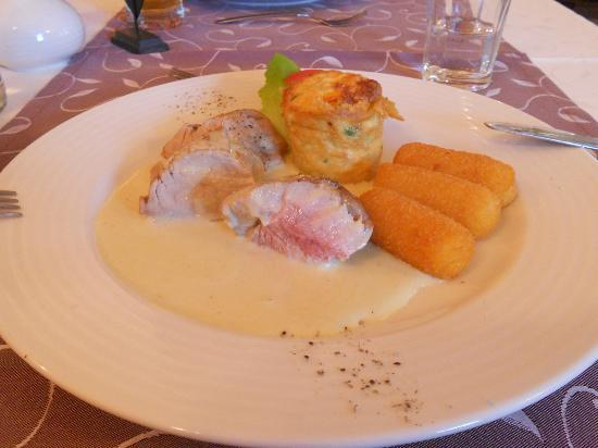 Sporthotel Kitz : main course
